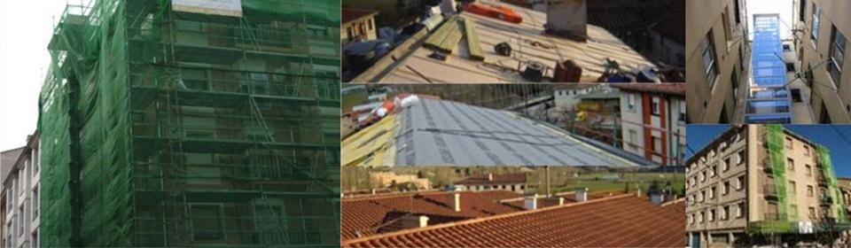 Reformas vizcaya instalacion ascensores cubiertas tejados for Tejados y fachadas vizcaya